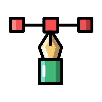 Skræddersyet strategi - ikon